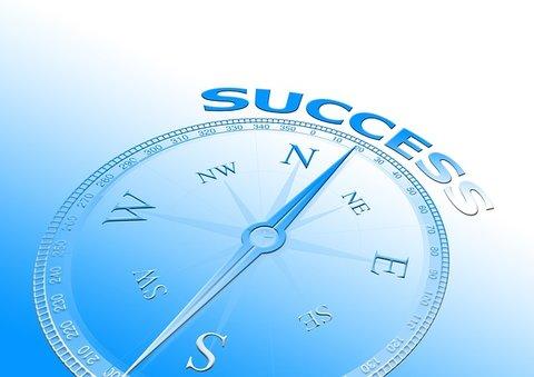 kompas voor succes