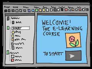 grafisch plaatje van online cursus maken