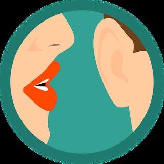 grafisch plaatje digitaal oor voor online cursus maken