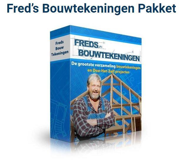 Freds bouwtekeningen pakket met volop ideeën om iets te maken van hout