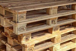 zelfs van houten pallets kun je iets maken