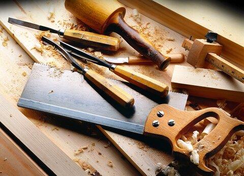 Basis gereedschap om iets te maken van hout