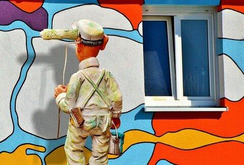 De buitenboel schilderen valt ook onder de woonlasten
