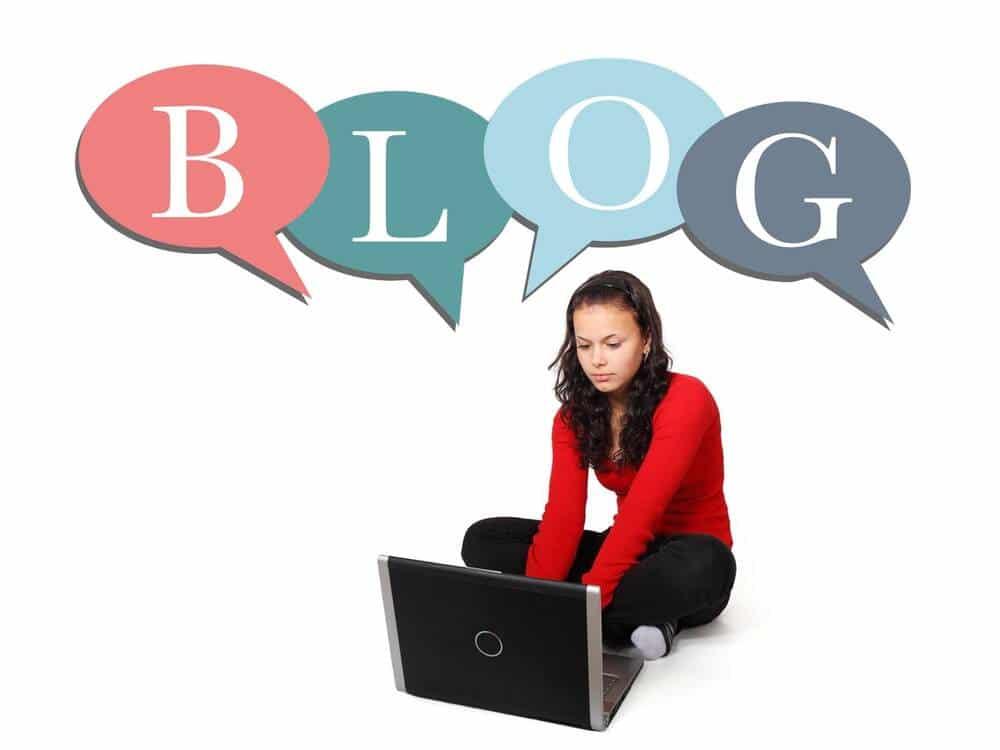 vanuit huis verdienen door blogs te schrijven